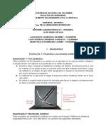 Informar laboratorio dinamica