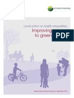 Review8 Green Spaces Health Inequalities
