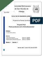 Proyecto de plantas químicas
