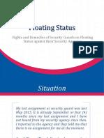 Floating Status