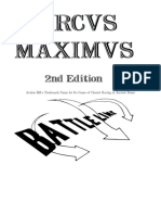 Circus Maximus and Optional and Wreckus Maximus Rules Front Matter Two Column