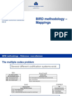 4. BIRD Methodology Mappings
