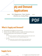 supply and demand applications