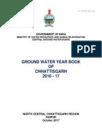 Chhattisgarh Ground Water