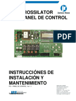 Rossilator-manual de Operacion