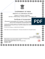 01) SSPLTech. - Certificate of Incorporation