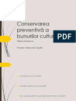 introducere conservare preventiva