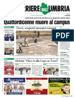 Rassegna stampa dell'Umbria venerdì 26 luglio 2019 UjTV News24 LIVE