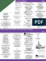 BNSIC 2019 Lenten Brochure