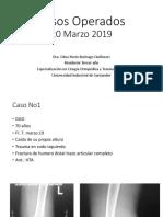 11. Casos Operados 19 Marzo 2019