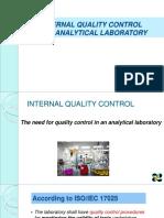 2017-10-27 Internal Quality Control