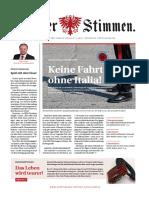 Tiroler Stimmen, Ausgabe 1-2019