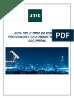 GUÍA DEL CURSO DE EXPERTO PROFESIONAL EN ADMINISTRACIÓN DE SEGURIDAD