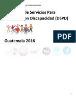 Directorio de Servicios Para Personas Con Discapacidad Guatemala 2016