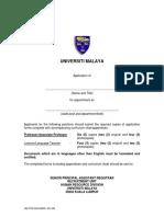 Application Form - English-malay