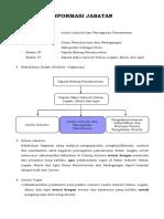 INFORMASI JABATAN -  Analis Industri Dan Pencegahan Pencemaran