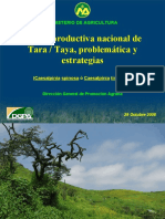 Oferta Productiva Nacional TARA