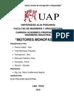 Motor Monofasico Trabajo Final