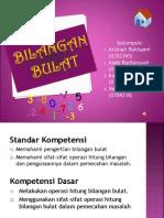Presentasi Bilangan Bulat