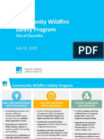 072519 Community Wildfire Safety Program Overview - city of Clearlake
