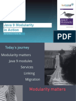 Java 9 Modularity in Action