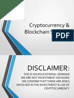 Cryptocurrency & Blockchain Presentation