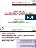 Lecture 9 by Mr Akhilesh Gupta on PSC I-Girder Worked example.pdf