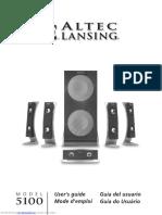 user manual altec lancing 5100