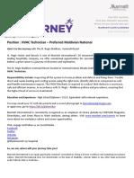 Job Advertisement - HVAC Technician (1)