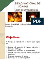 prevencion a incendios