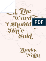 All the Words I Should Have Sai - Rania Naim.epub