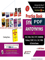 Synonyms & Antonyms Workbook