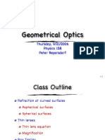 Geometrial Optics