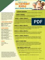 Week 1 Leader Guide