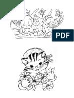 Colorat pisici