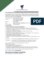 1 - ETABS Course Outline