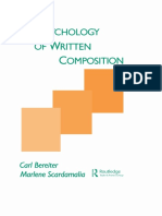 The Psychology of Written Composition SCARDAMALIA.pdf