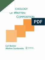 The Psychology of Written Composition SCARDAMALIA.pdf