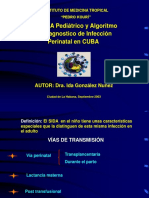VIH-SIDA Pediátrico y Algoritmo de Diagnostico de Infección