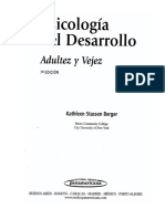 Berger, K. Psicología Del Desarrollo, Adultez y Vejez. Cap. 5