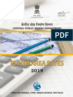 Plinth Area Rates 2019