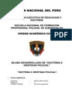 Silabo de Doctrina e Identidad Policial (2)