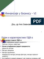 Finansije u biznisu - Predavanje 6