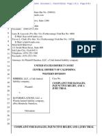 Sundesa v. IQ Formulations - Complaint