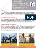 DFI-NAC One Day Seminar - 20th July 2019