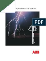 ABB Pararrayos XPS - Catalogue