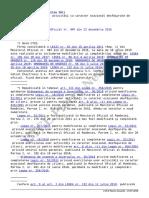 LEGE Nr. 52 Din 15 Aprilie 2011 - Zilieri