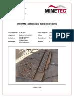 Informe Fabricación Blindaje PC-8000 r0 28-05-2019
