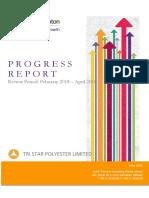 Progress a report