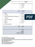 Hk Expenses (2018)